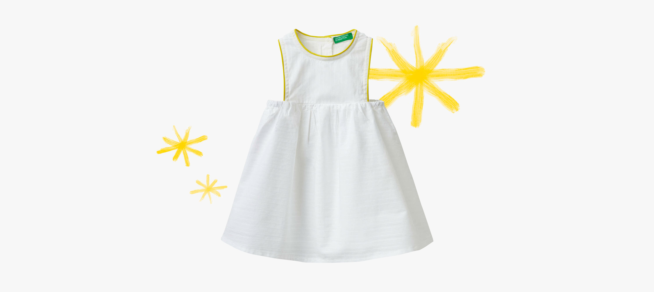 Fluo Detaylı Elbise