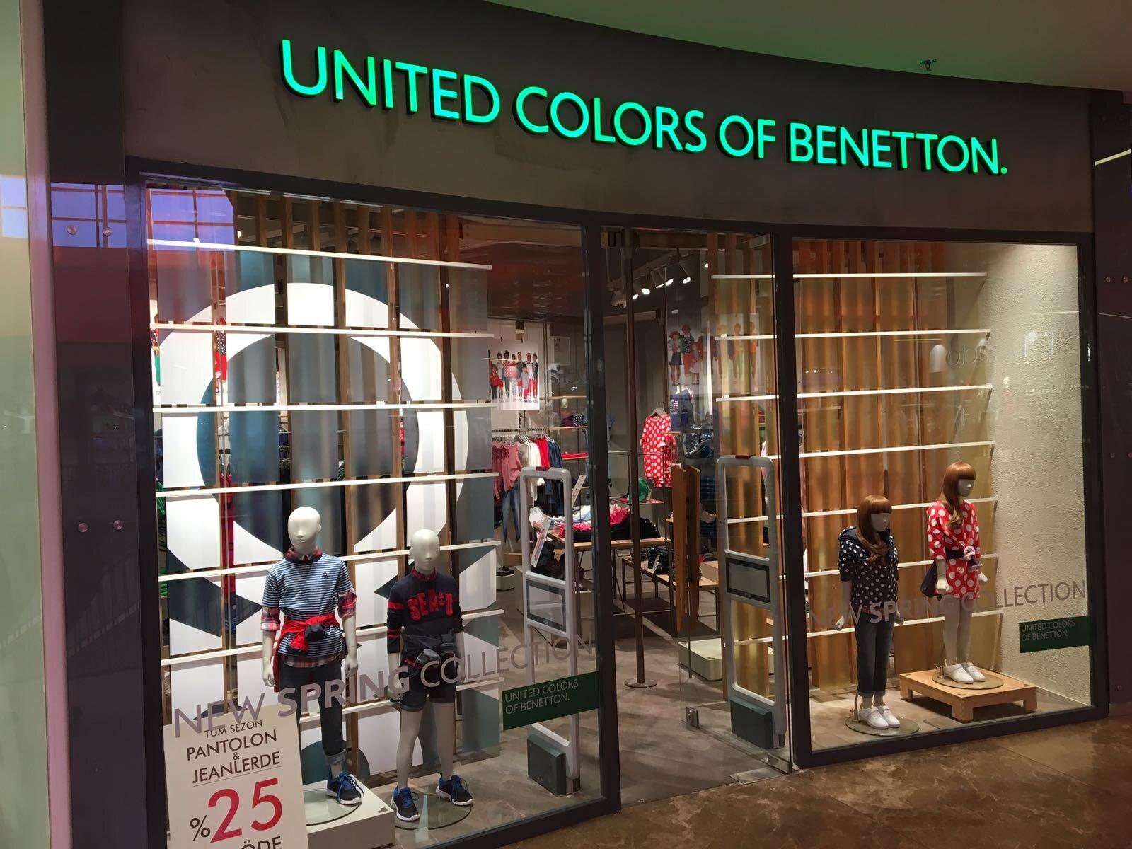 United Colors of Benetton şimdi de Antalya Terracity'de!