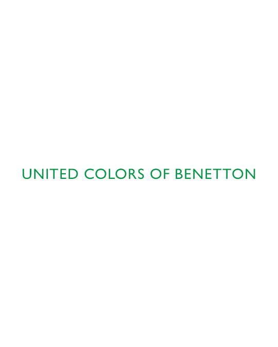 Benetton Logo Polo Tshirt