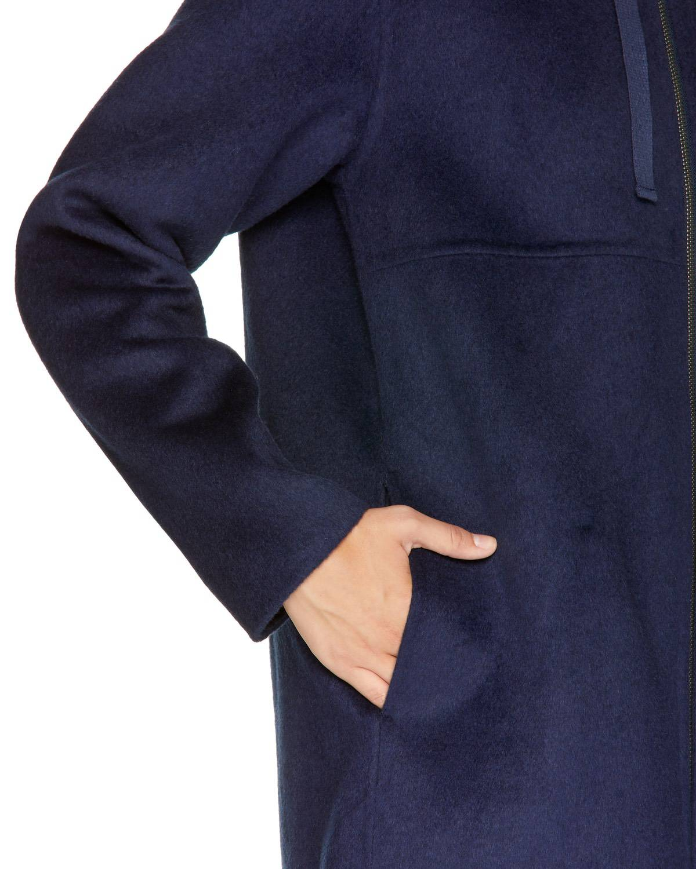 Kapşonlu Palto