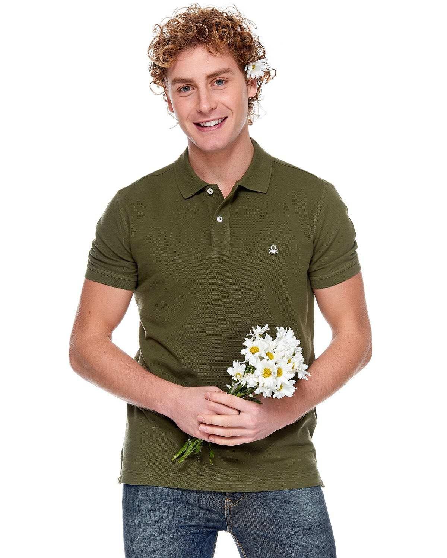 Regular Fit Kısa Kollu Polo Tshirt
