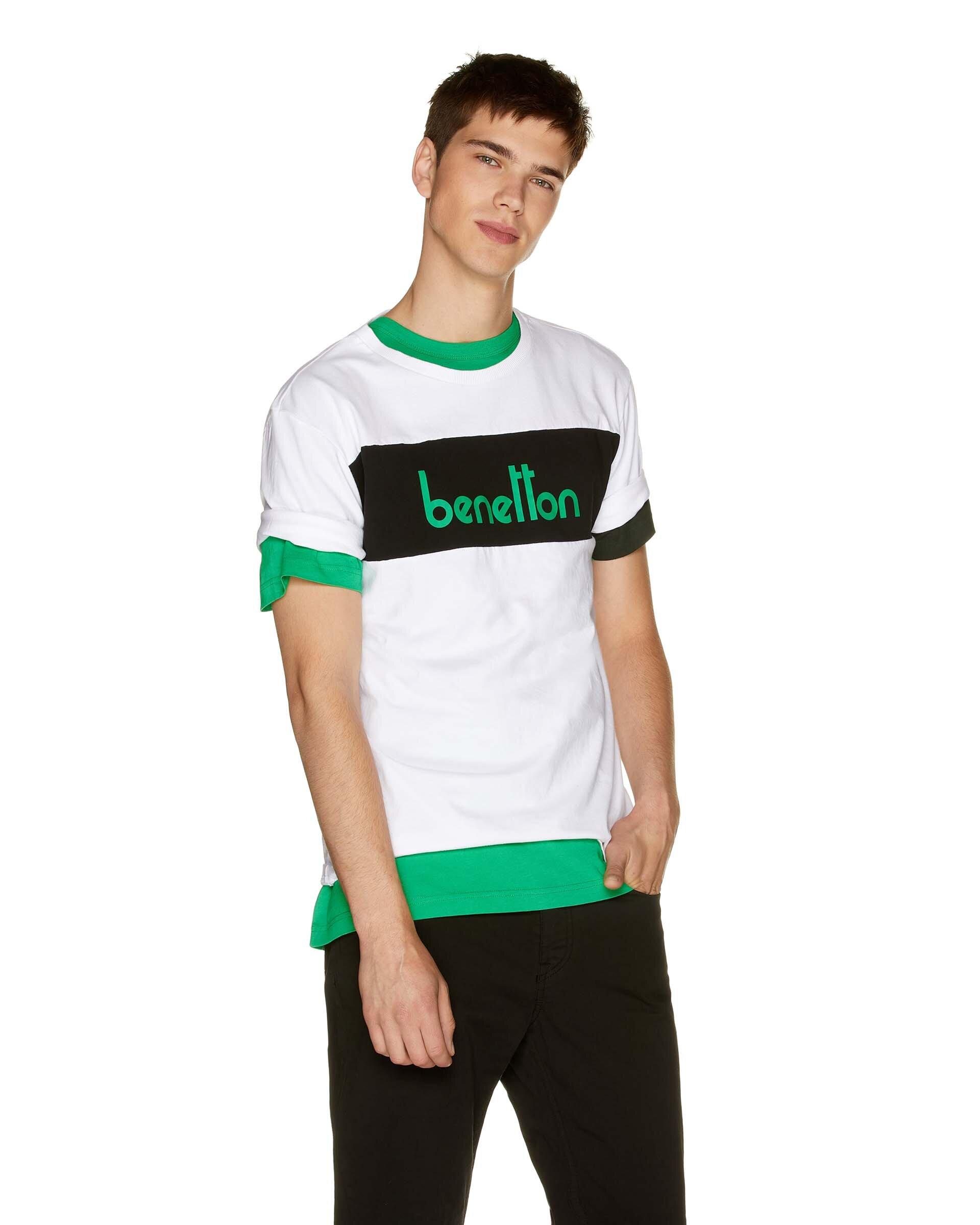 Vintage Benetton Logolu Tshirt
