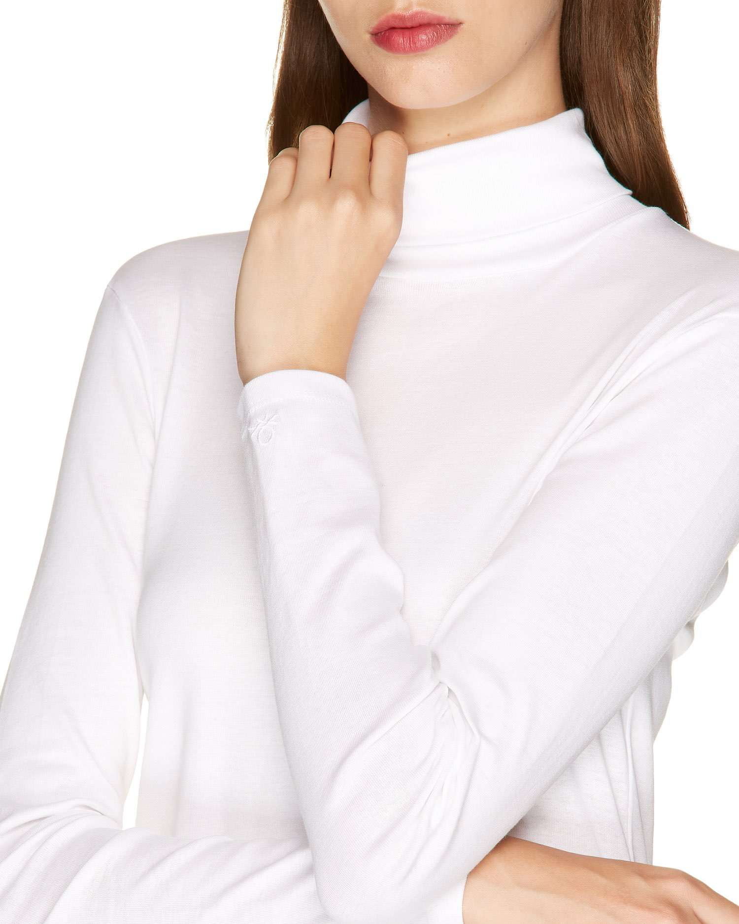 Boğazlı Basic T-shirt