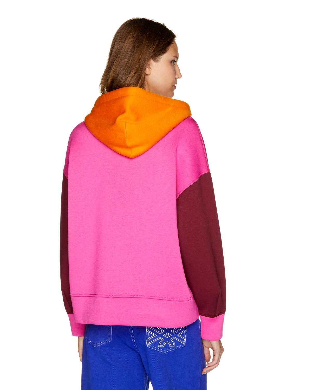 Oversize Fermuarlı Sweatshirt
