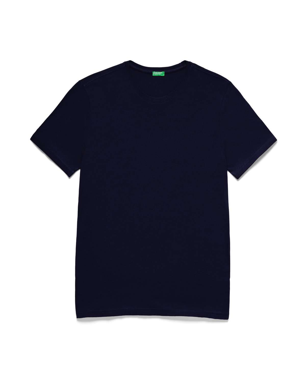 Bisiklet Yaka Basic Tshirt