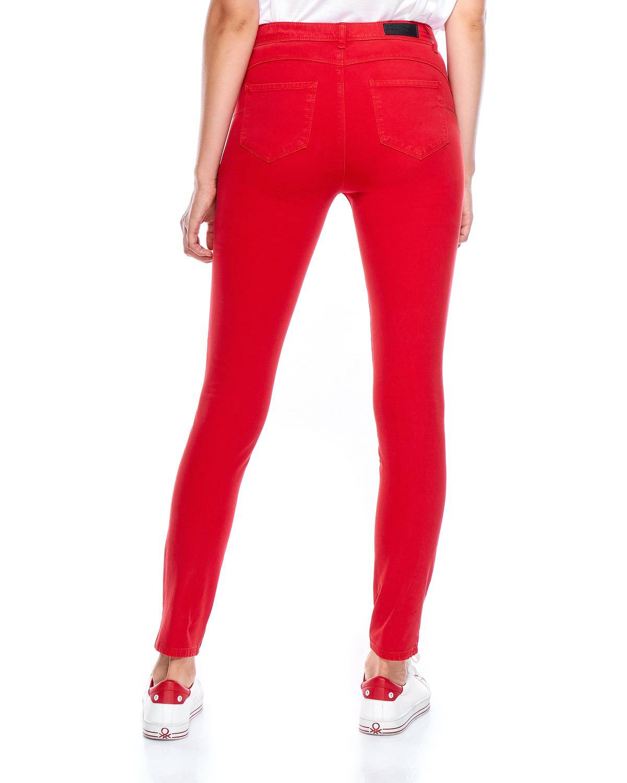 Renkli Denim Pantolon