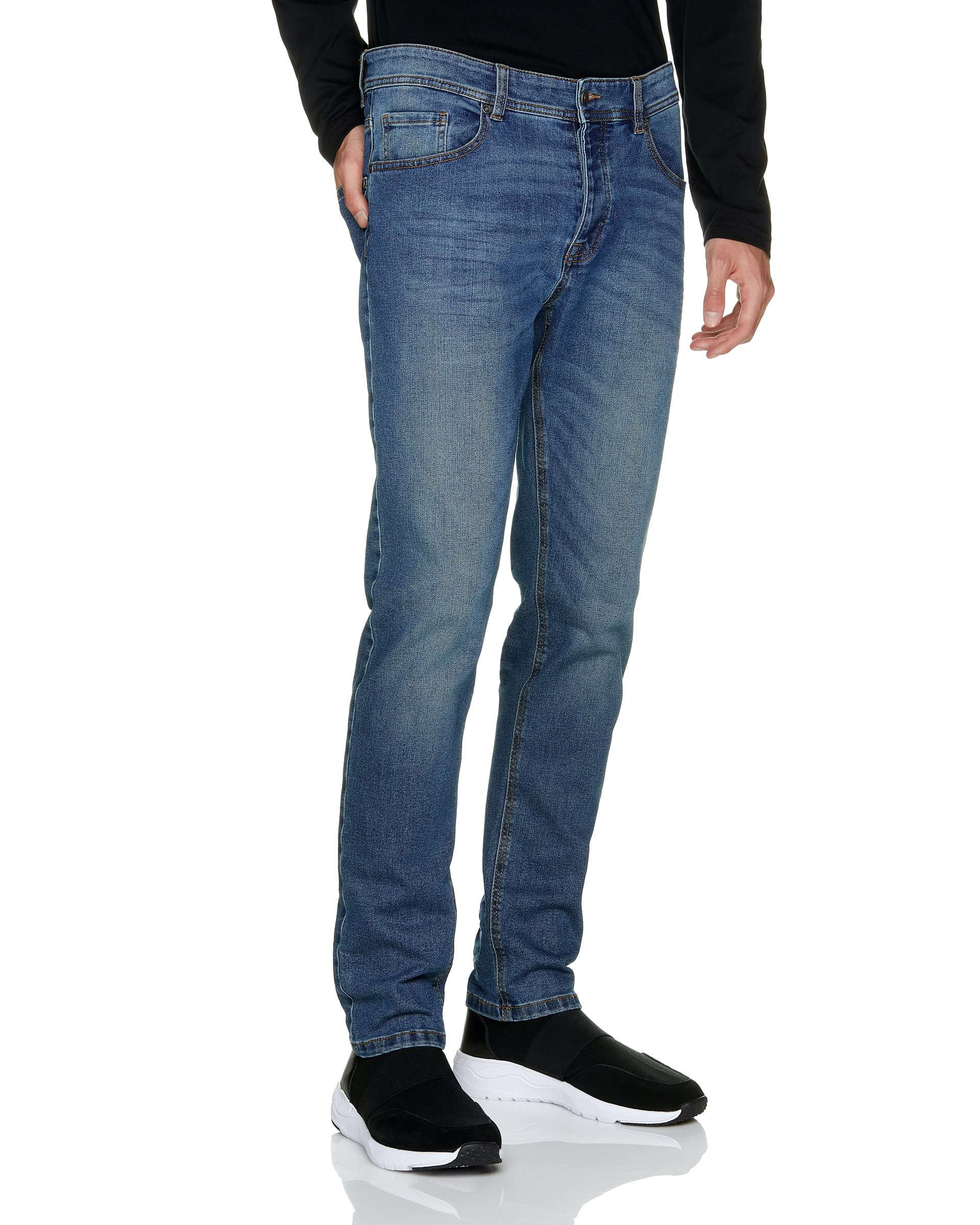 Regular Waist Slim Fit Jean