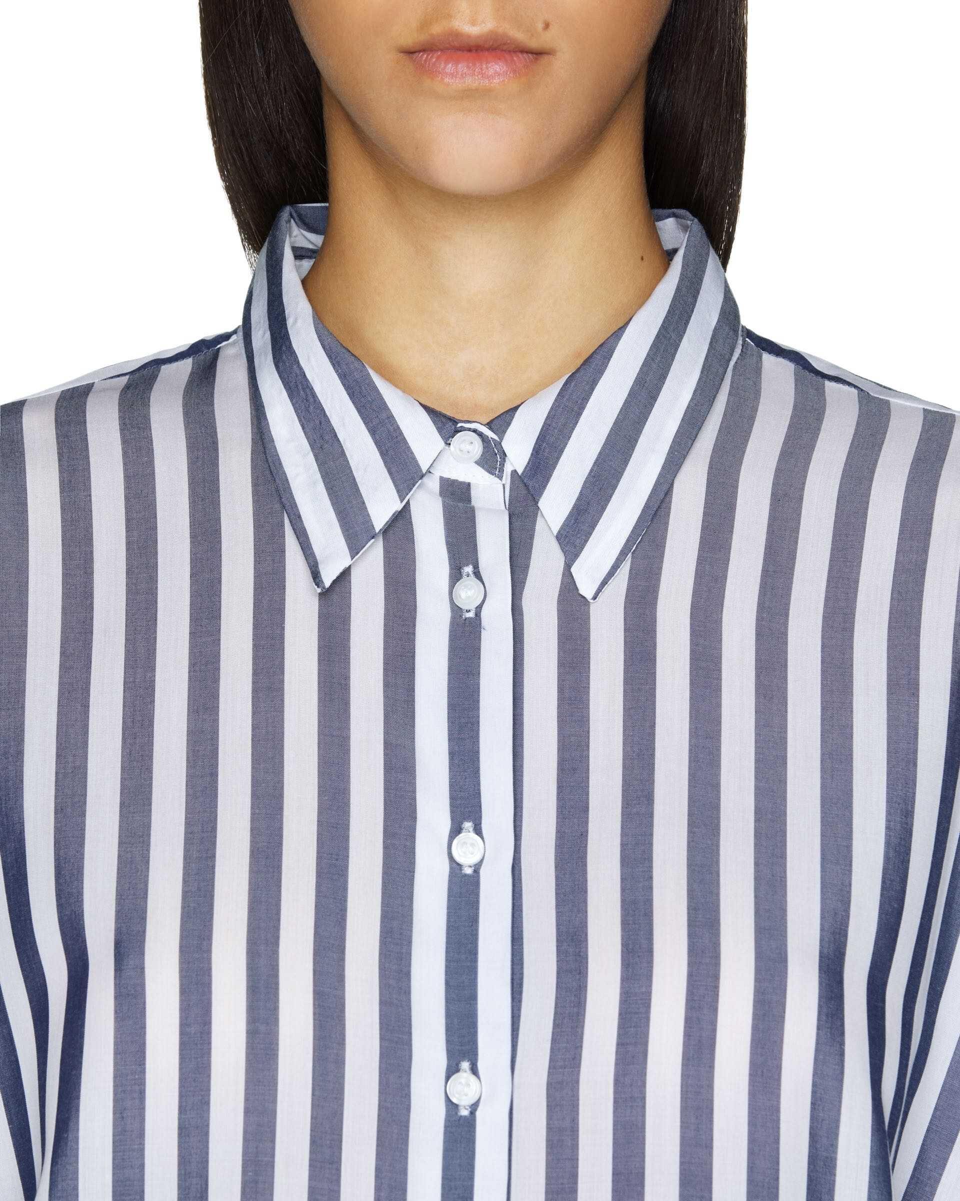 Çizgili Liyosel Gömlek