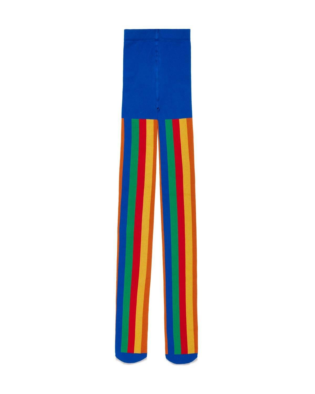 Renkli Desenli Külotlu Çorap