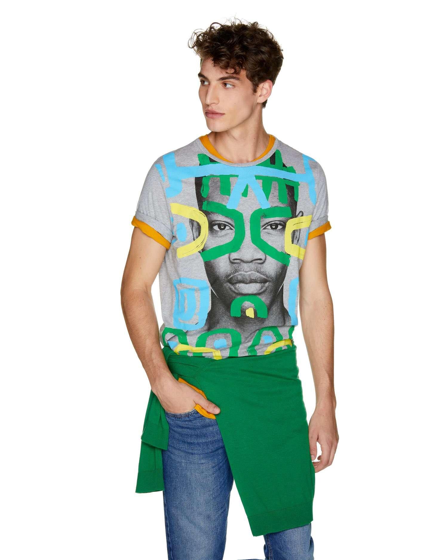 Yüz Baskılı Tshirt