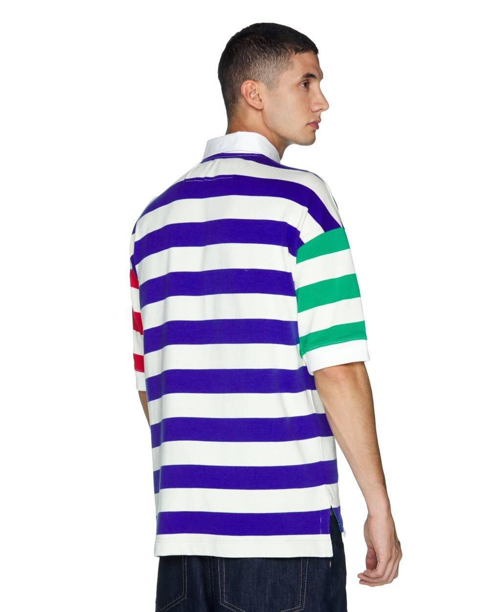 Çizgili Kalın Polo Tshirt