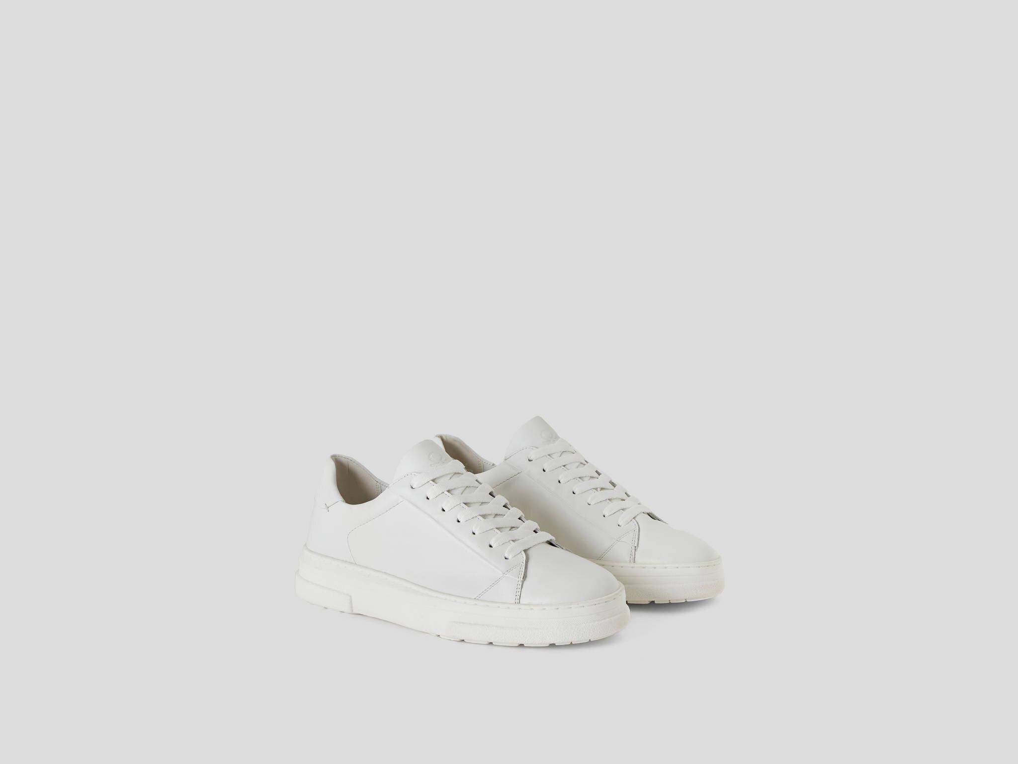 Deri Sneaker Ayakkabı