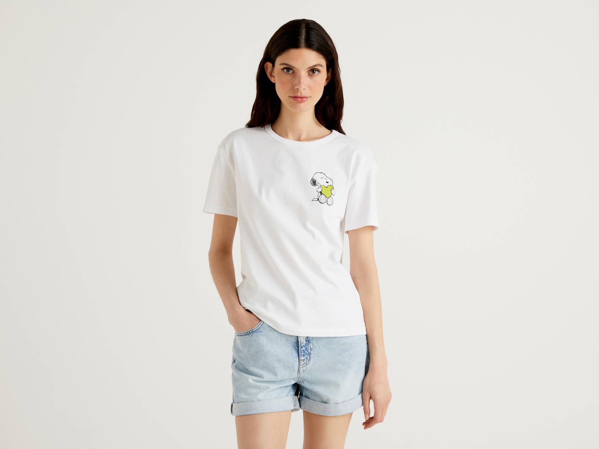 Snoopy Baskılı Tshirt