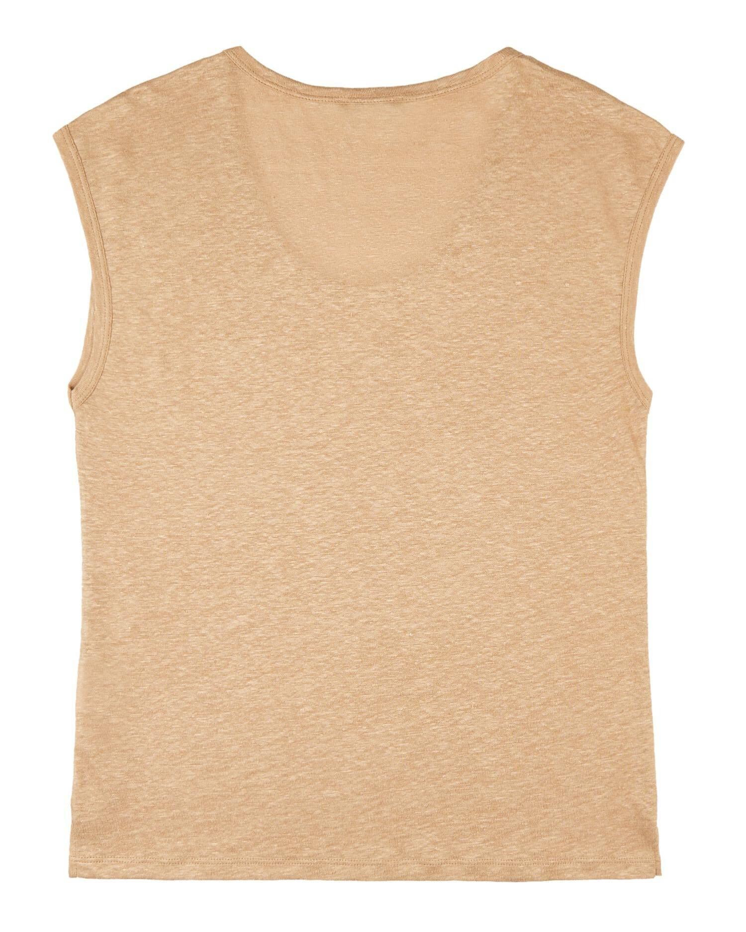 Basic Keten Tshirt