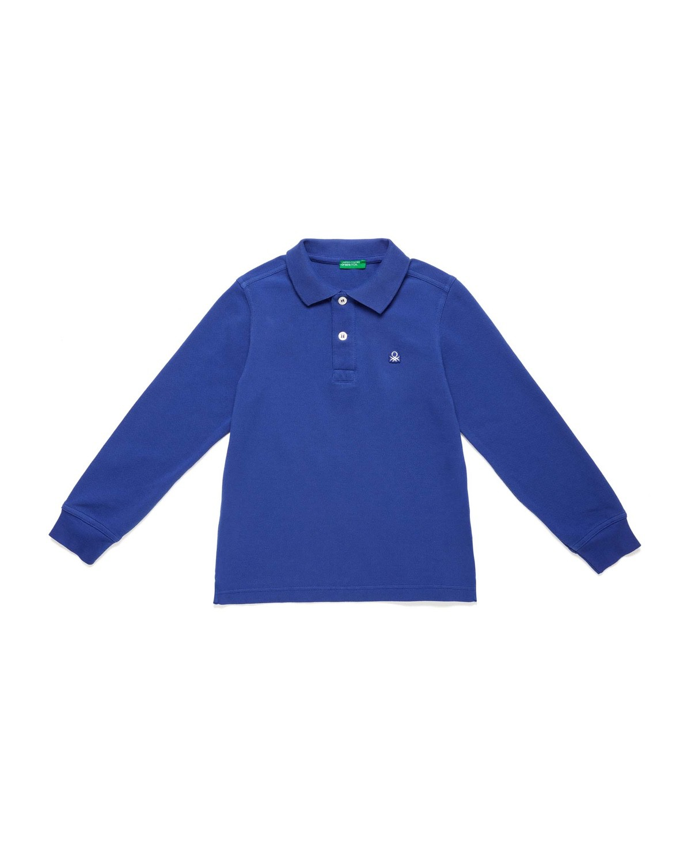 Benetton Logo Pike Polo Tshirt