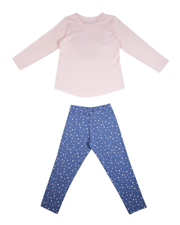 Kap Yıldız Desenli Pijama Takım