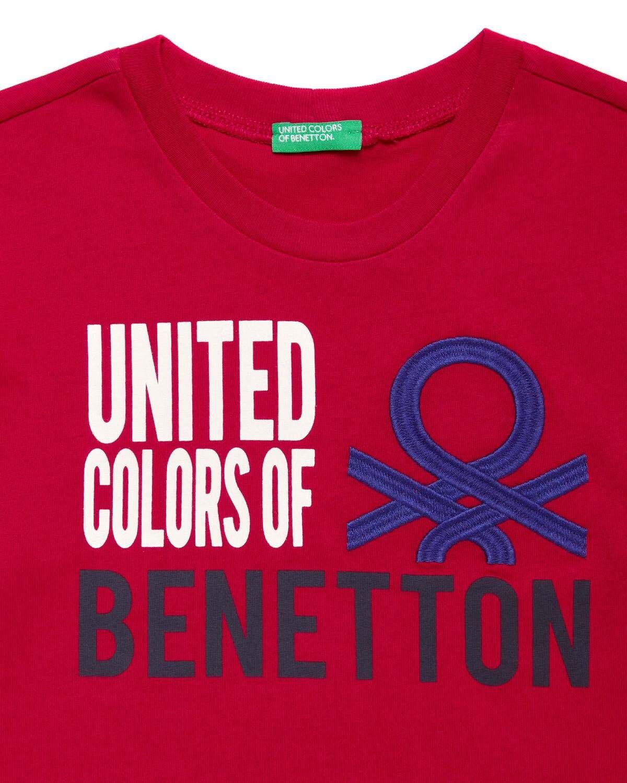 Vintage Benetton Yazılı Tshirt