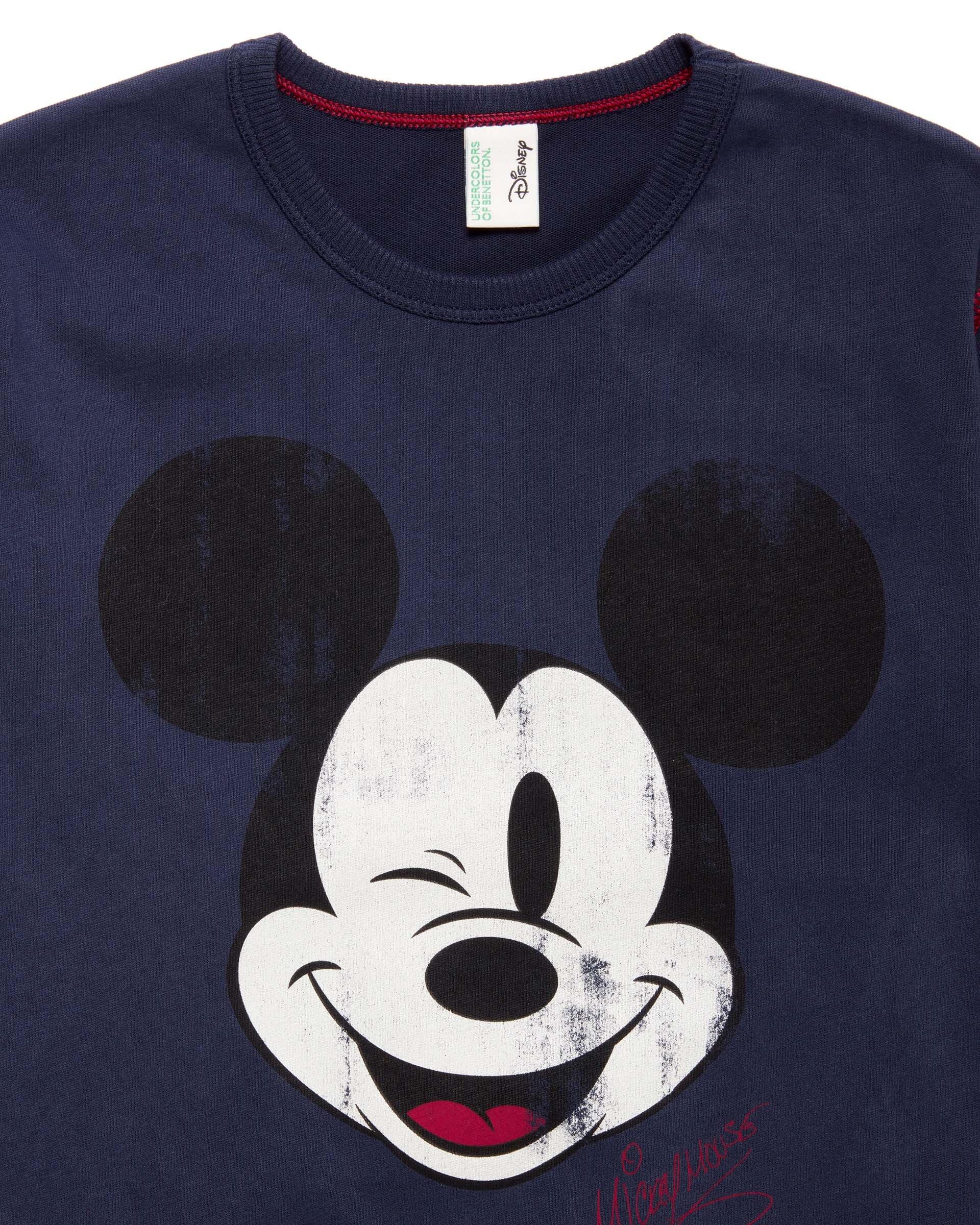 Mickey Mouse Desenli Pijama Takım