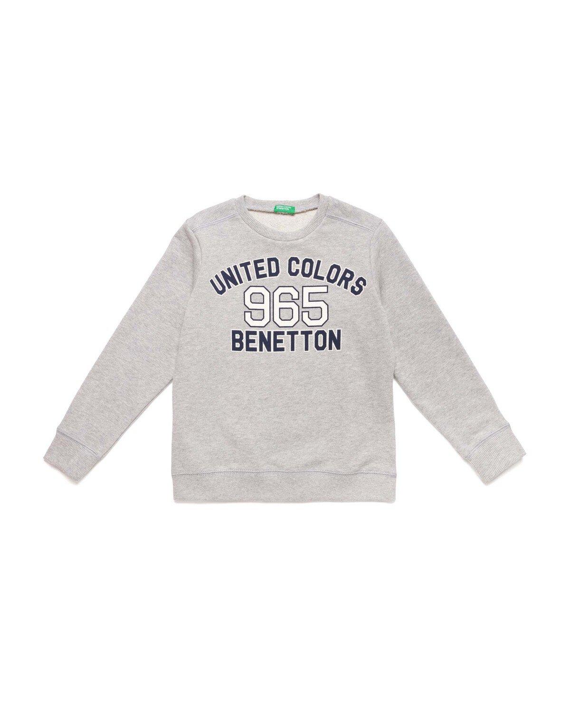 Benetton Yazılı Sweatshirt
