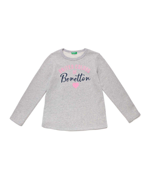 Benetton Yazılı Sweathshirt