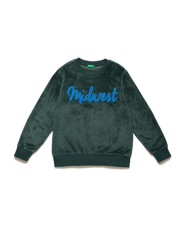 Midwest İşlemeli Sweatshirt
