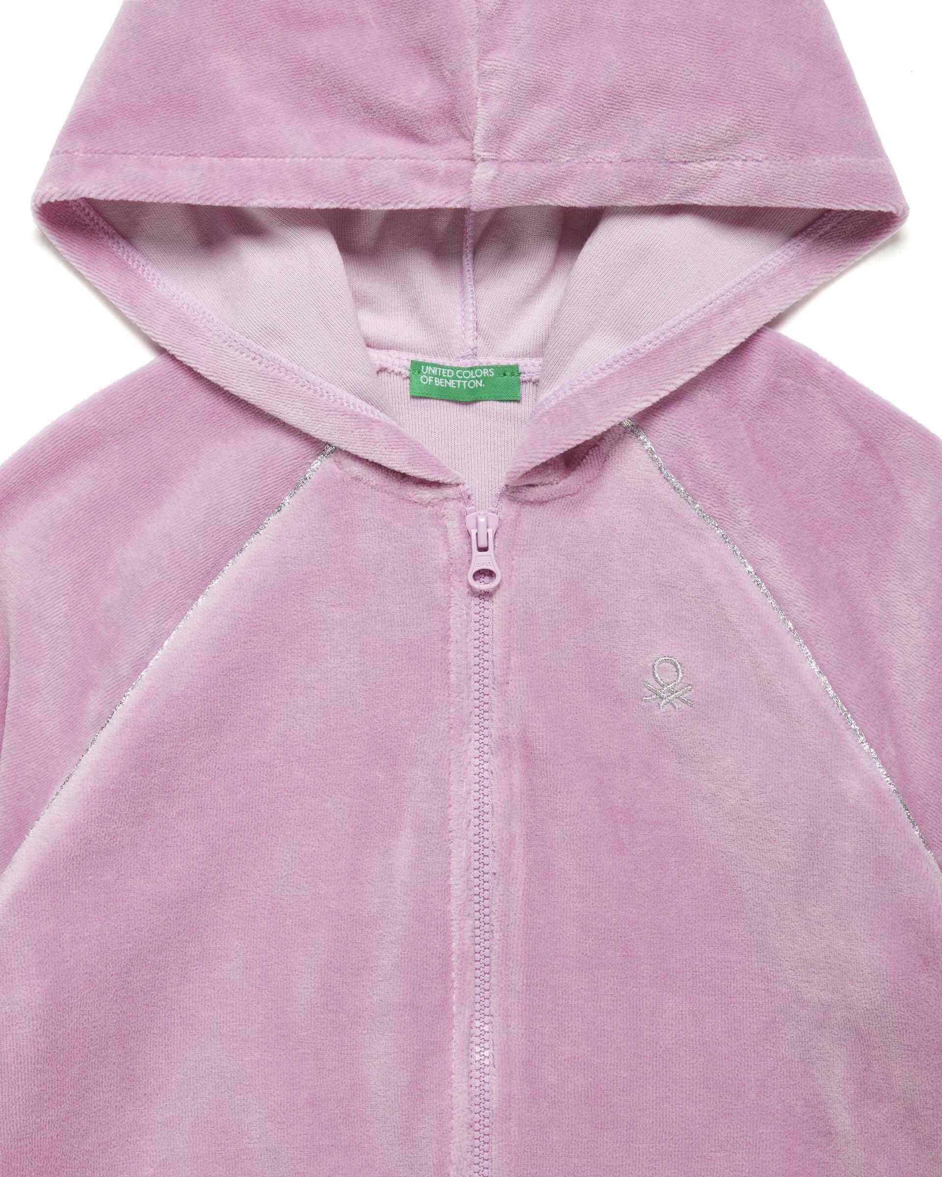 Benetton Kadife Sweatshirt