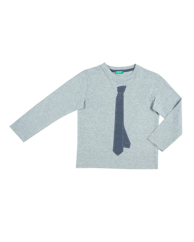 Kravat Papyon Baskılı Tshirt