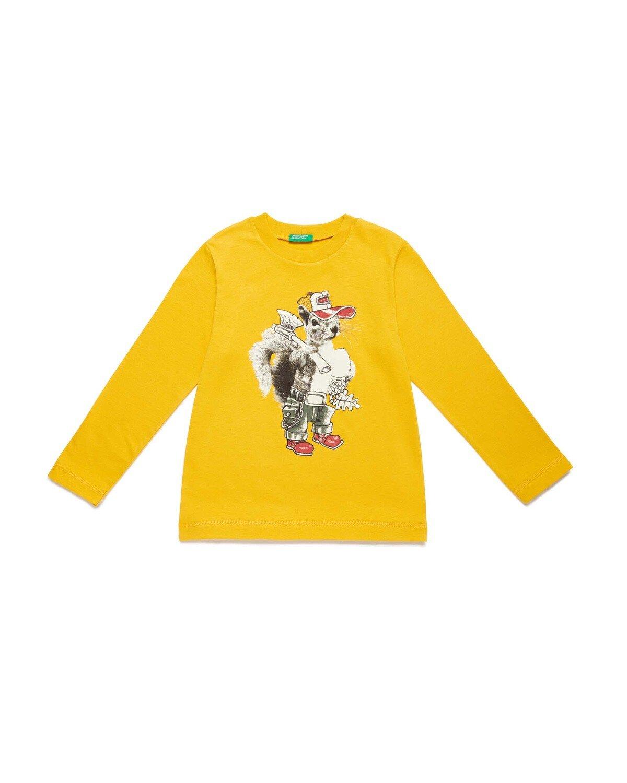 Retro Hayvan Baskılı Tshirt