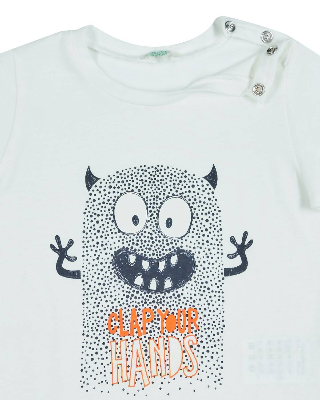 Canavar Baskılı Tshirt