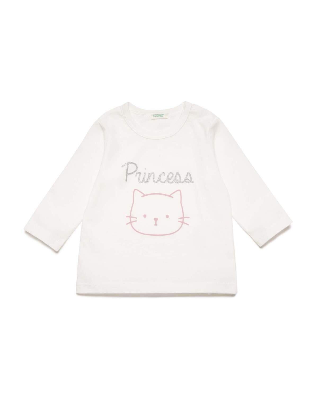 Kedi Ayıcık Grafikli Sweatshirt