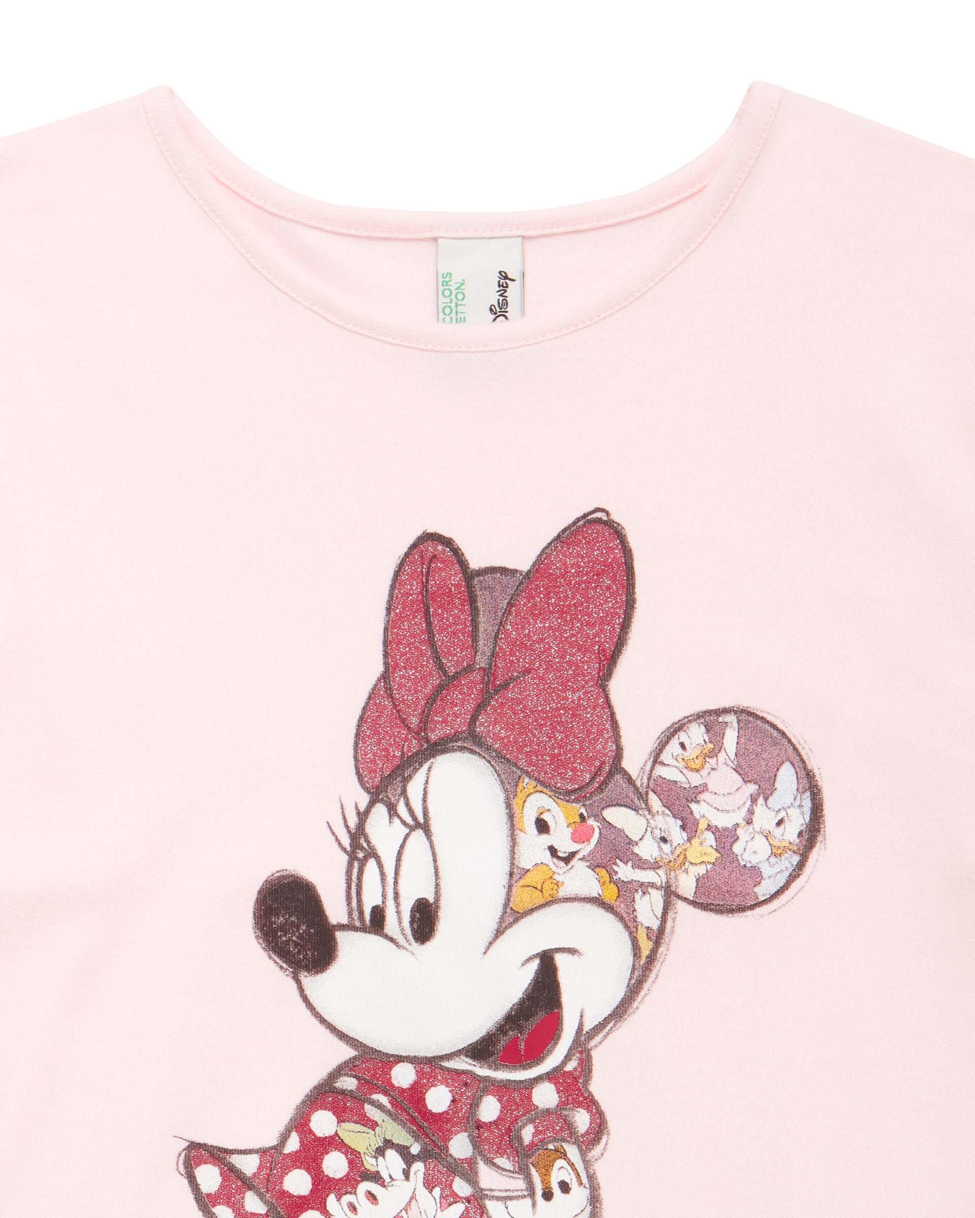 Minnie Baskılı Pijama Takımı