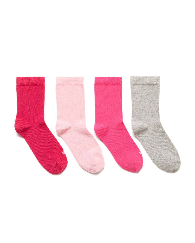 Düz 4lü Soket Çorap