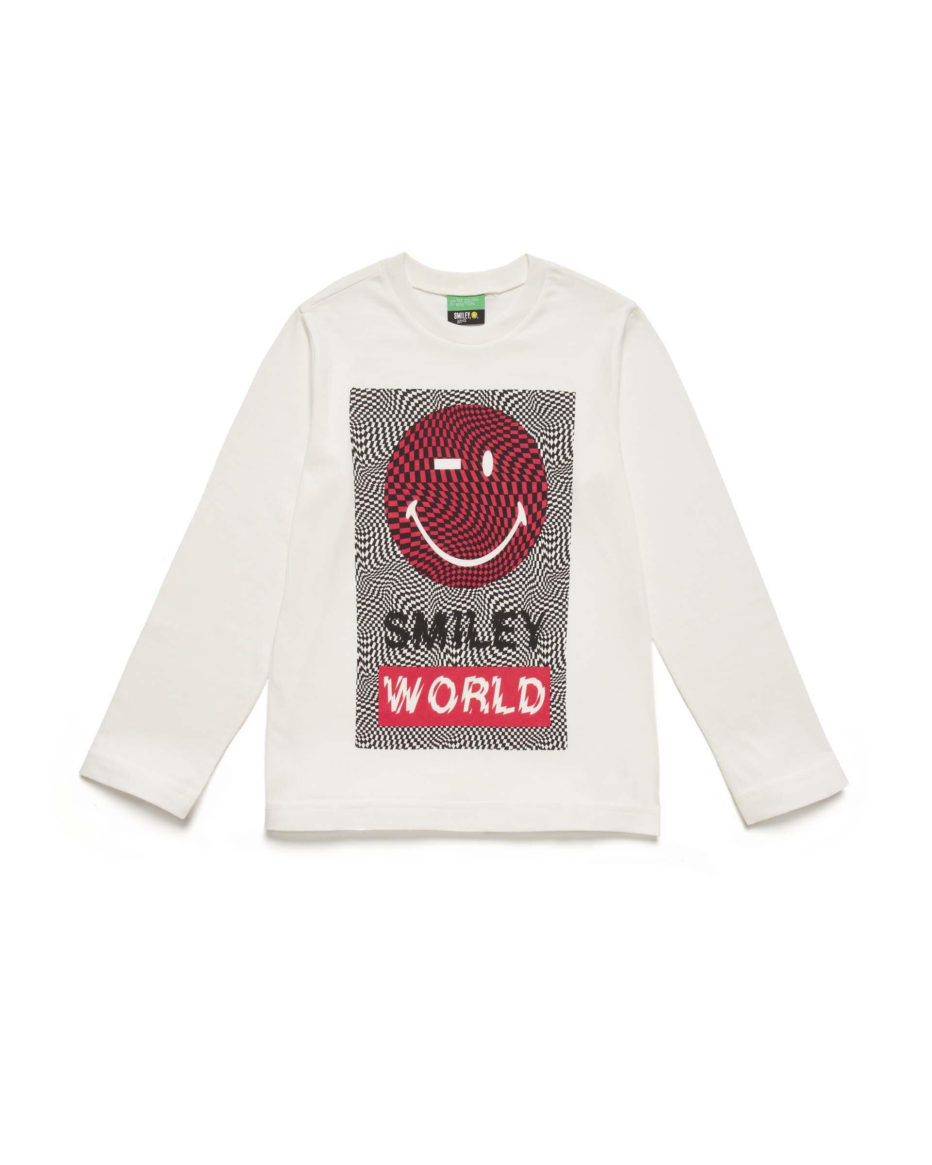 Smiley Grafikli Tshirt