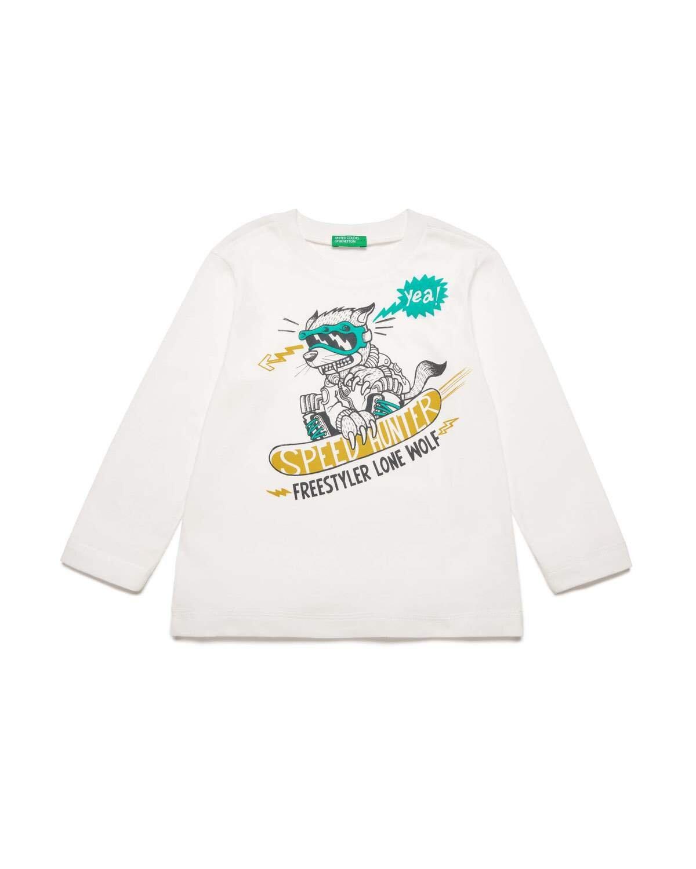 Hayvan Grafik Baskılı Tshirt