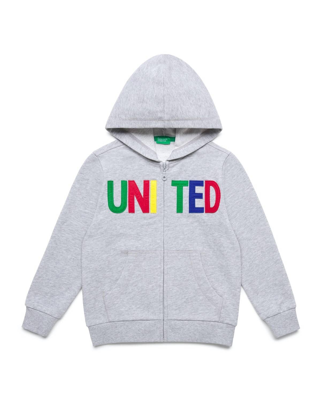 United Yazılı Sweatshirt
