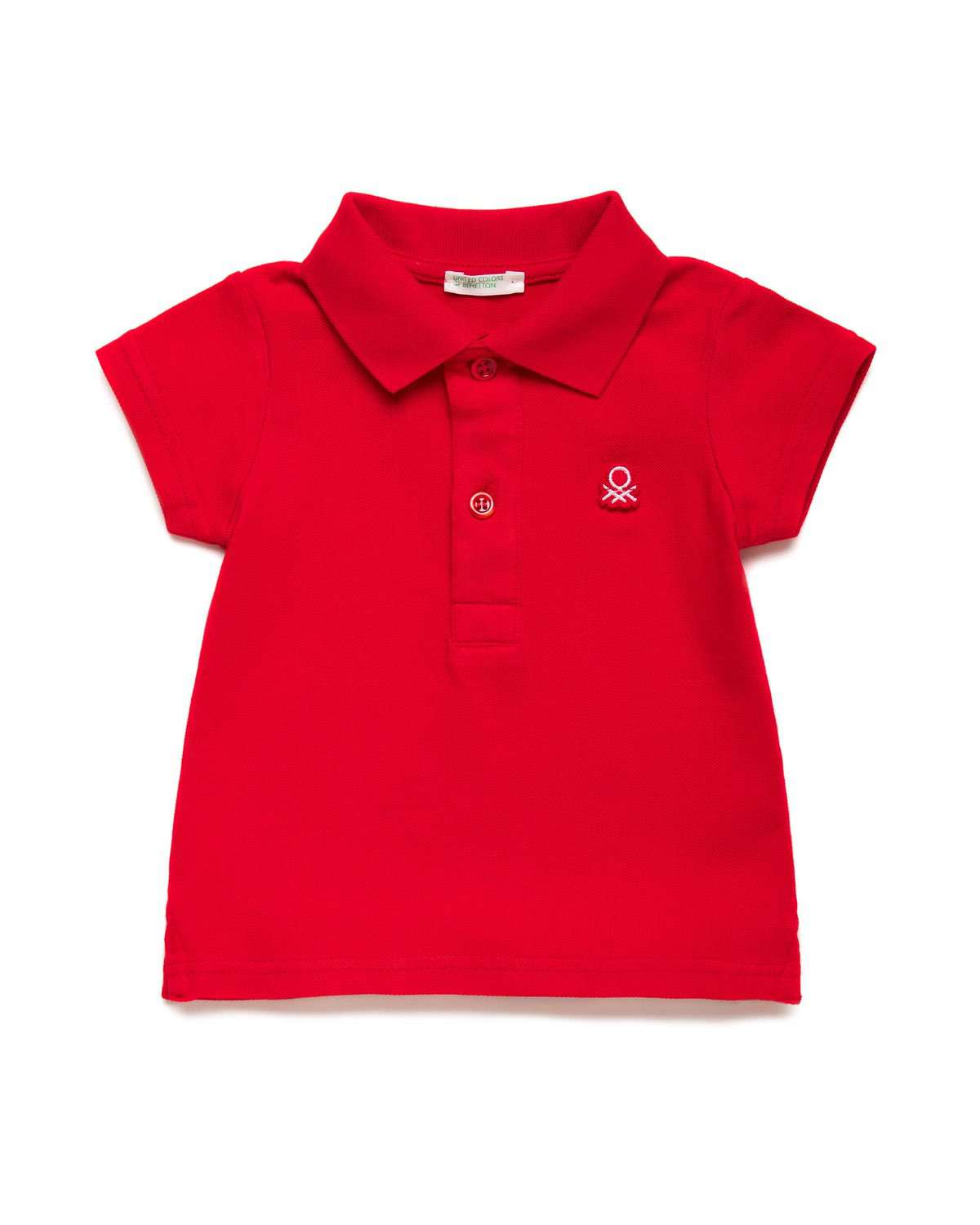Benetton Logolu Pike Polo Tshirt