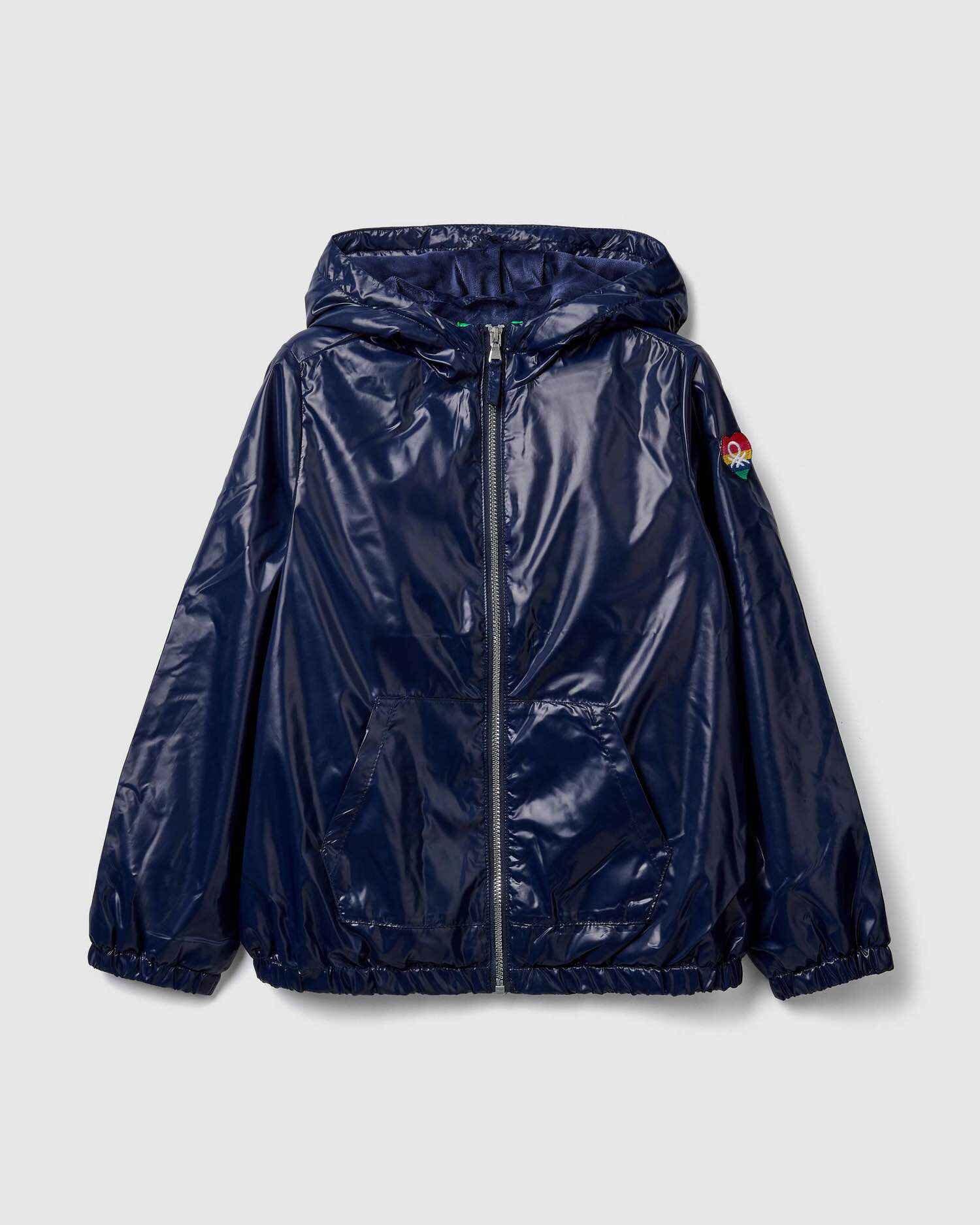 Benetton Logolu Yağmurluk