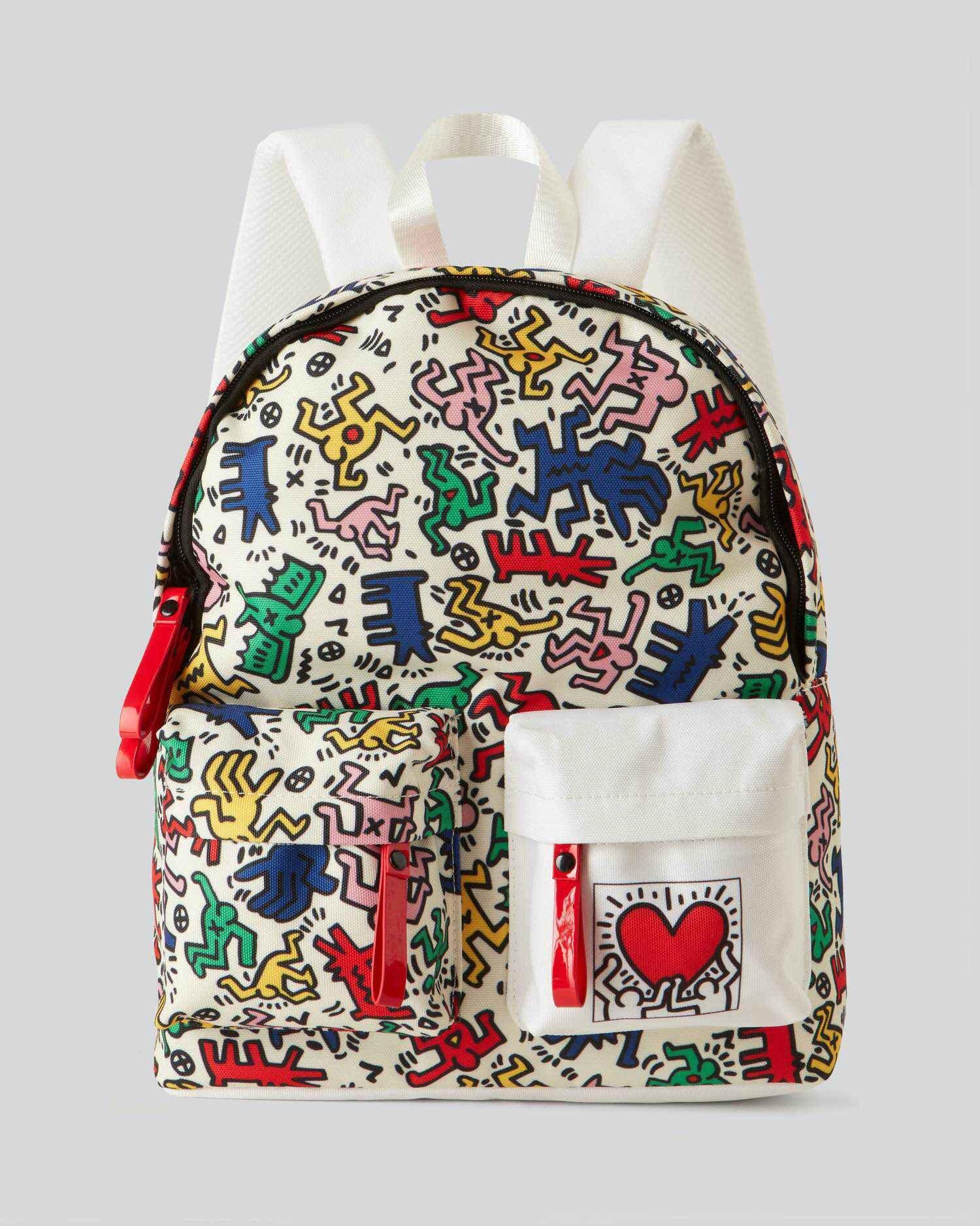 Keith Haring Çizimli Sırt Çantası