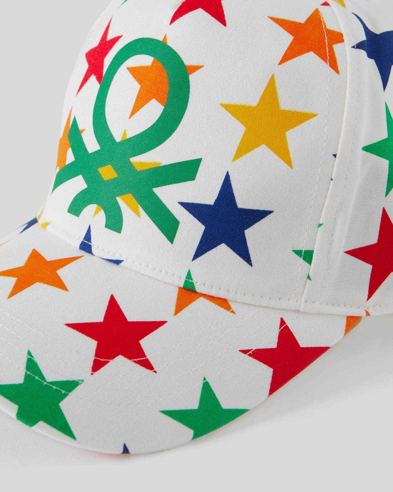 Benetton Yazılı Logolu Kep