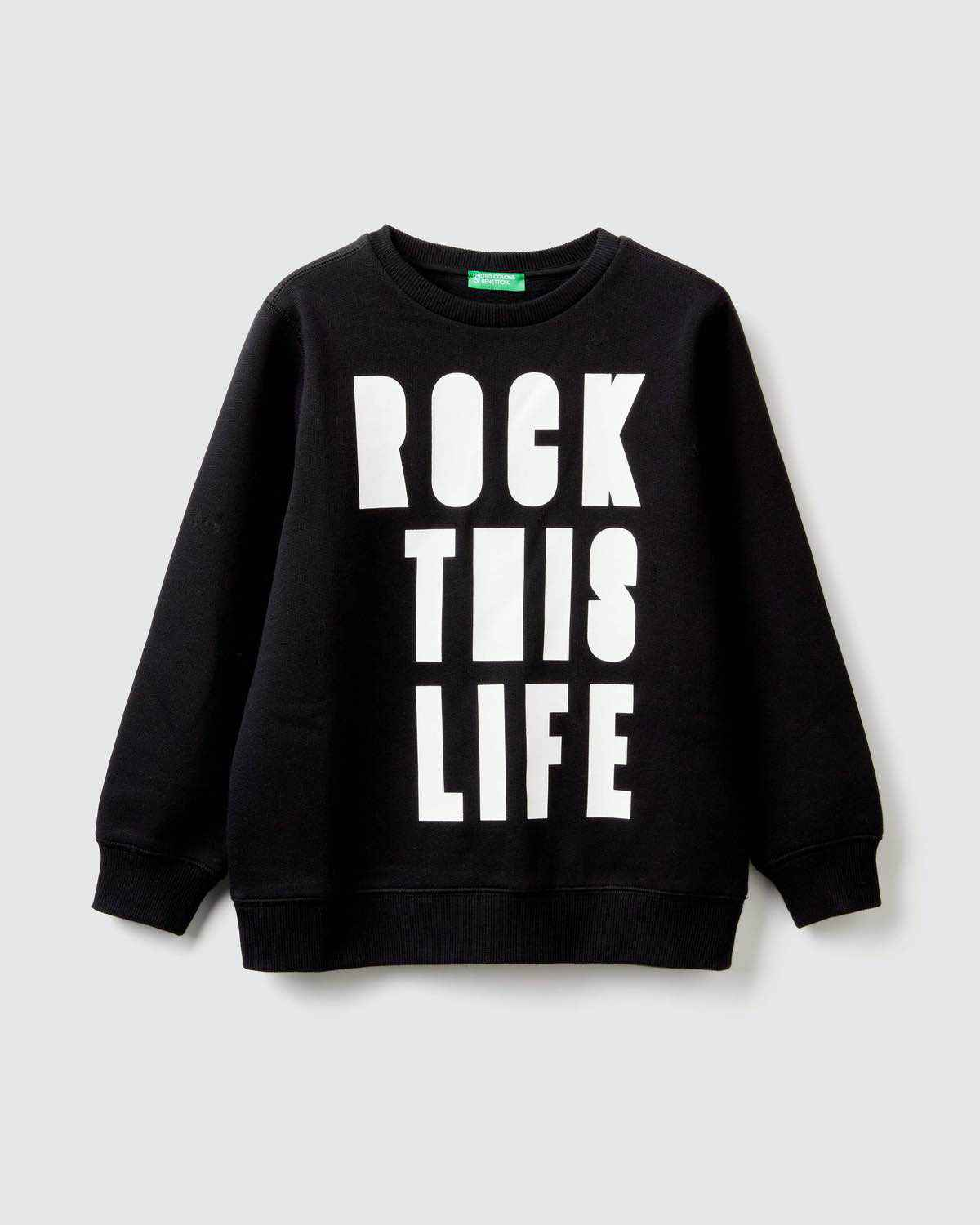 Rock This Life Yazılı Sweatshirt