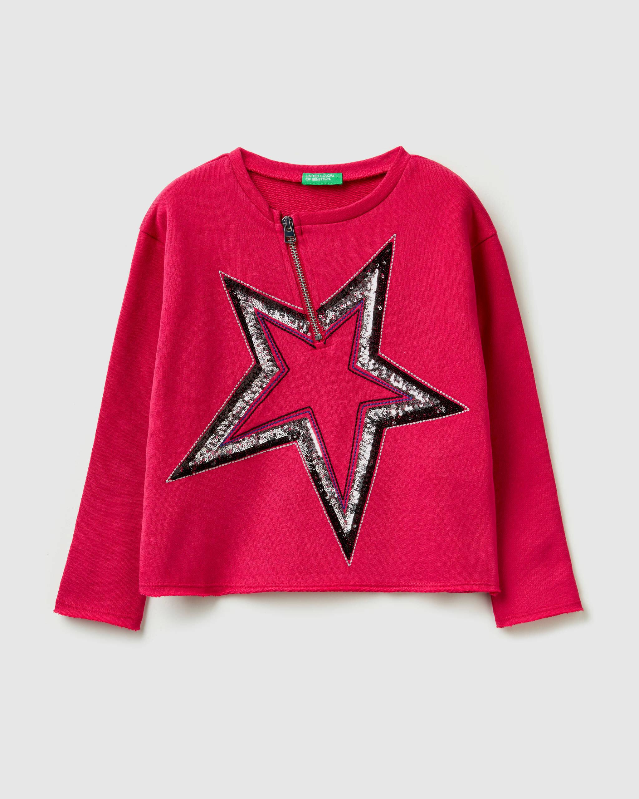 Payetli Boxy Sweatshirt
