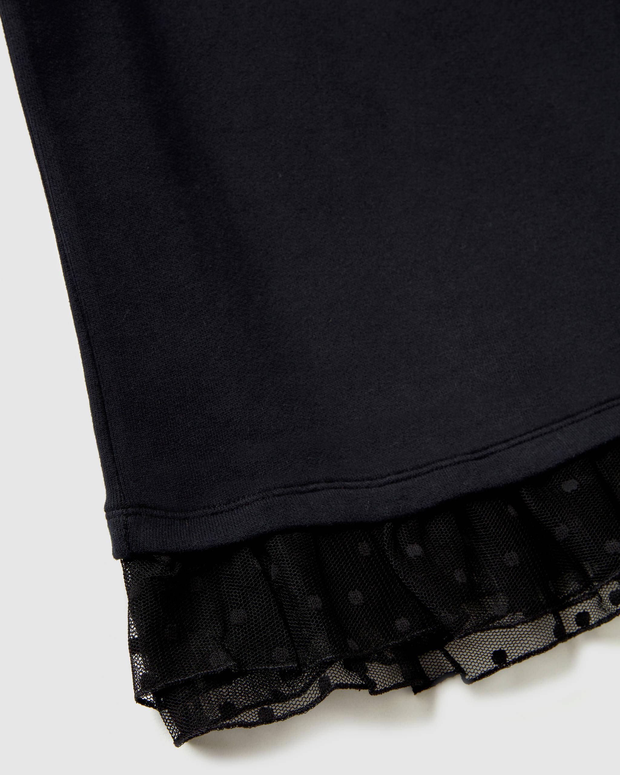 Eteği Tüllü Sweat Elbise
