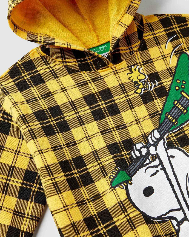 Snoopy Ekose Sweatshirt
