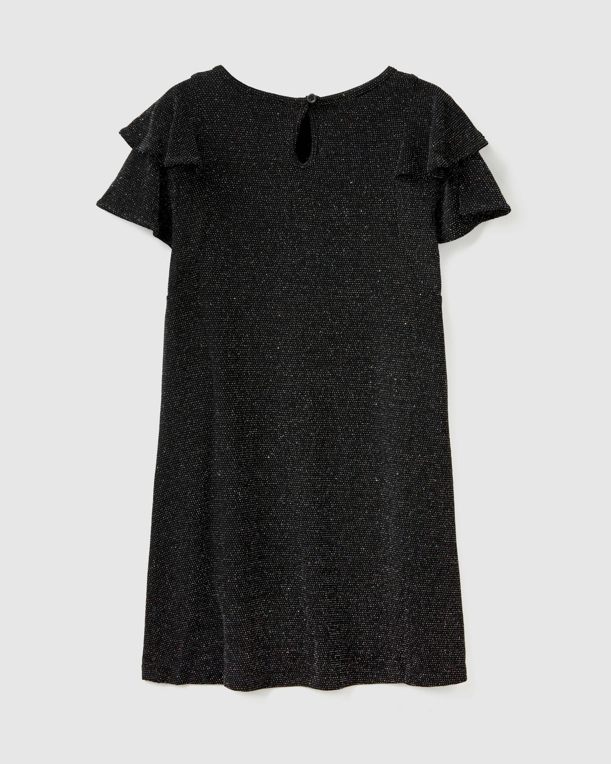 Lurex İplikli Mini Elbise