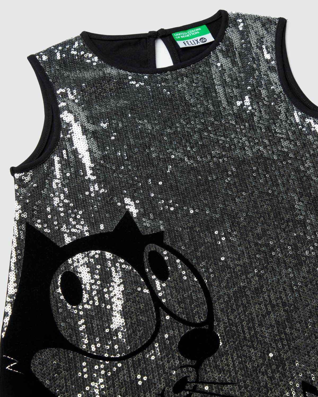 Felix Önü Payetli Elbise