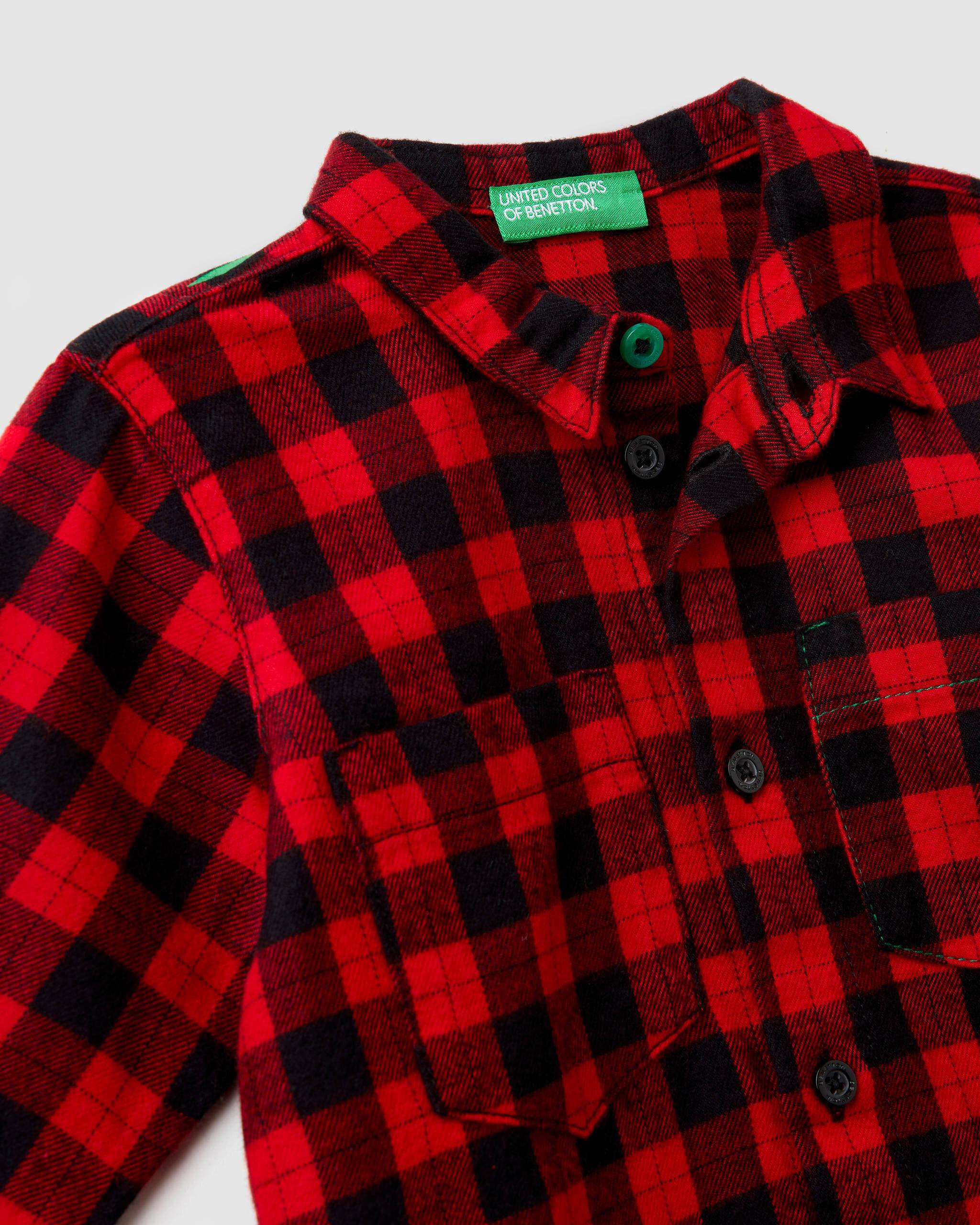 Ekose Oduncu Gömlek
