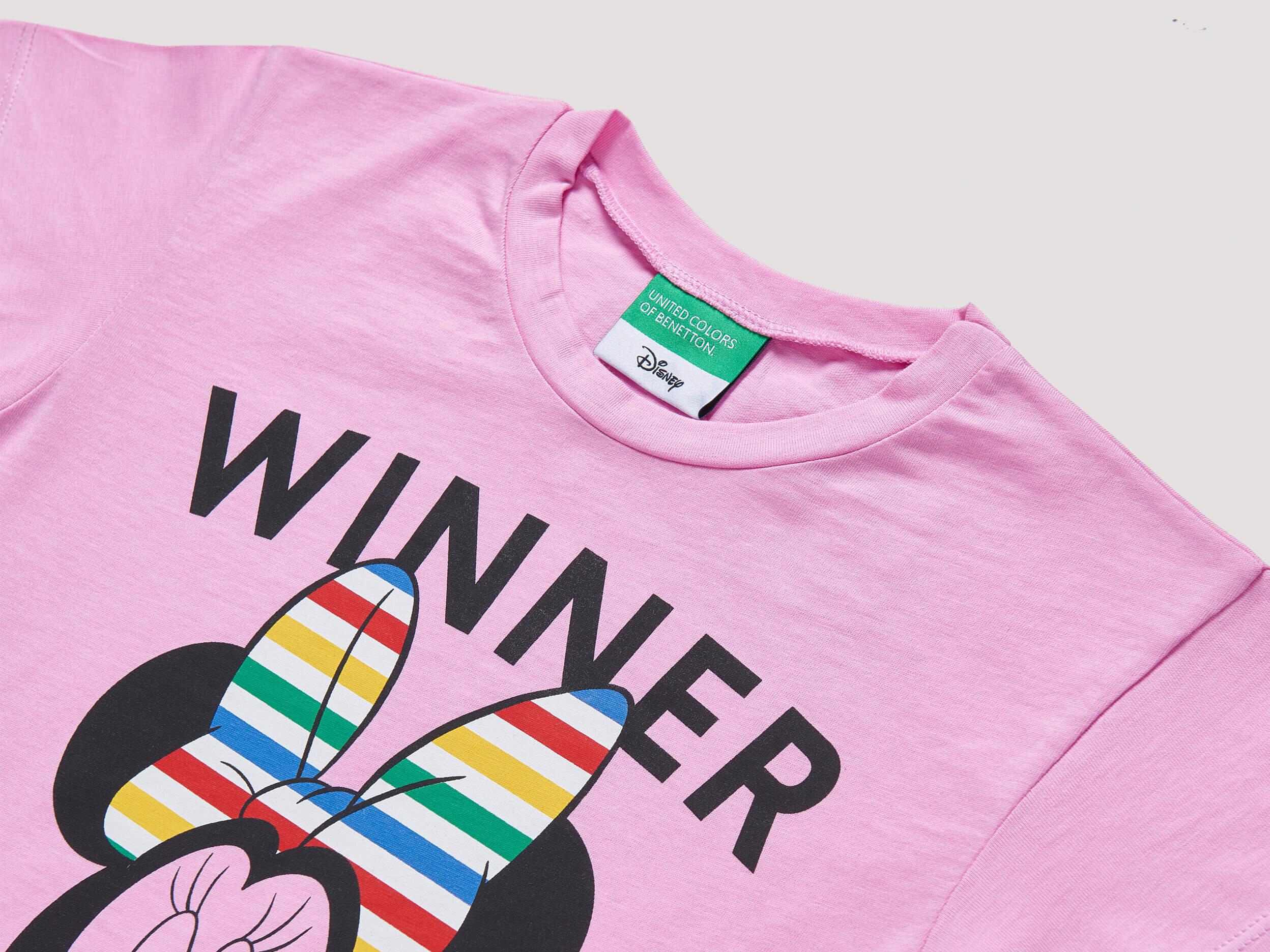 Minnie Mouse Baskılı Tshirt
