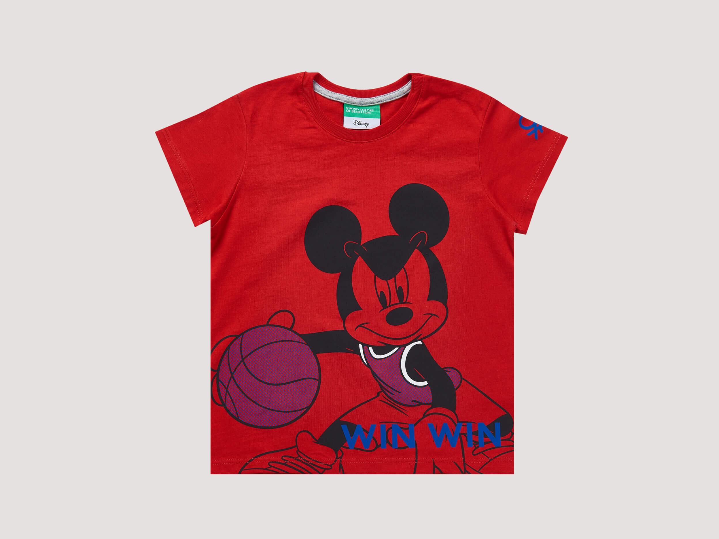 Mickey Mouse Goofy BaskılıTshirt