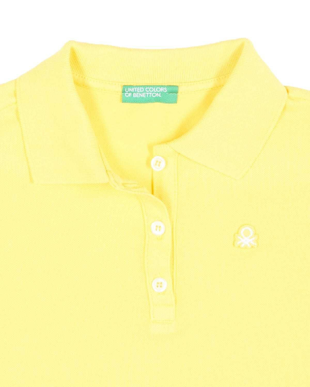 Benetton Logolu Polo Tshirt