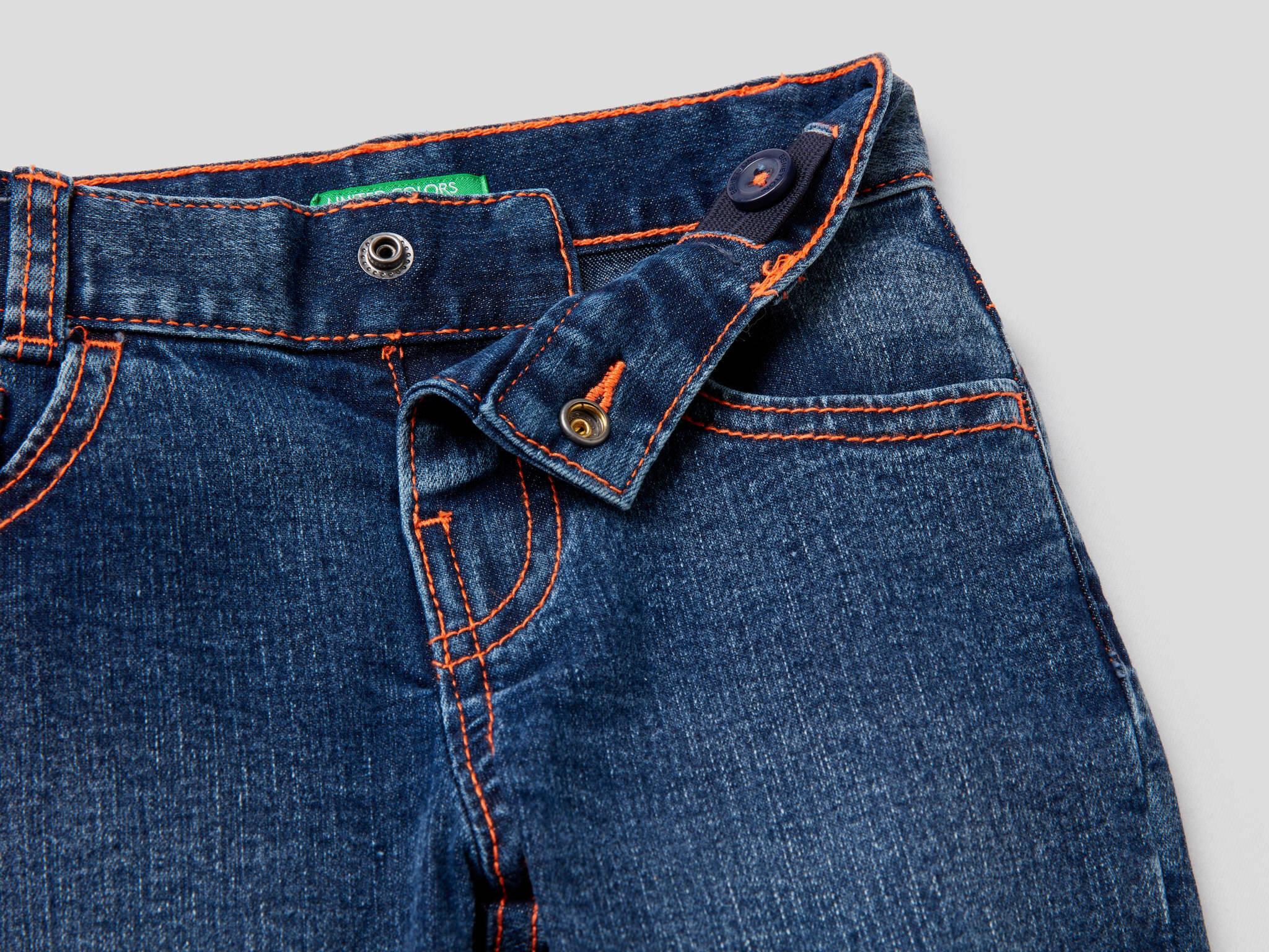 Paçası Flo Detaylı Jean Pantolon